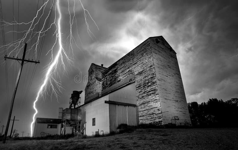 Tempestade Canadá do relâmpago imagens de stock royalty free