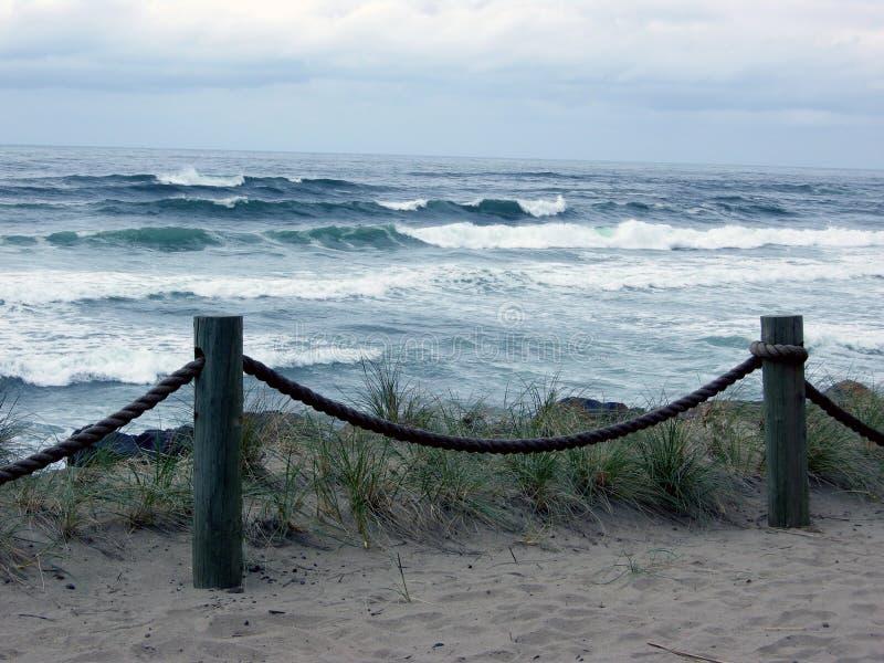 Tempestade central da costa de Oregon foto de stock