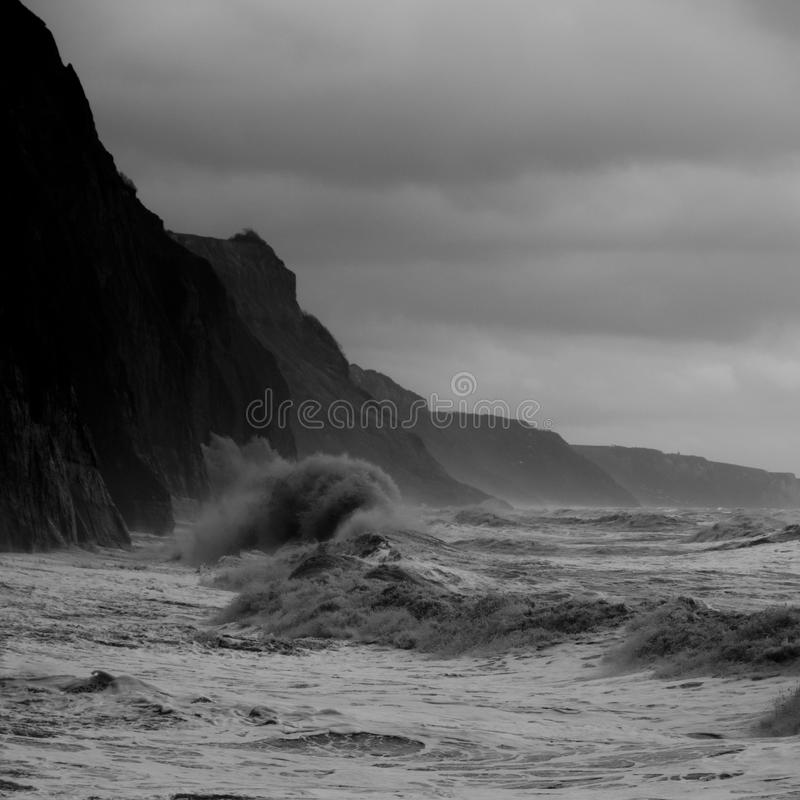 Tempestade de Devon imagens de stock royalty free