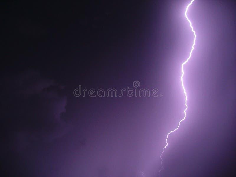 Tempestade do relâmpago imagens de stock