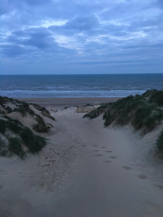 Tempestade dos bancos de areia fotos de stock