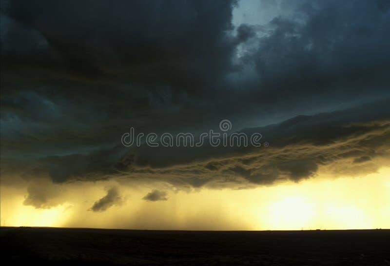 Tempestade elevada das planícies imagens de stock