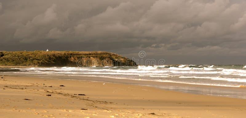 Tempestade entrante fotos de stock