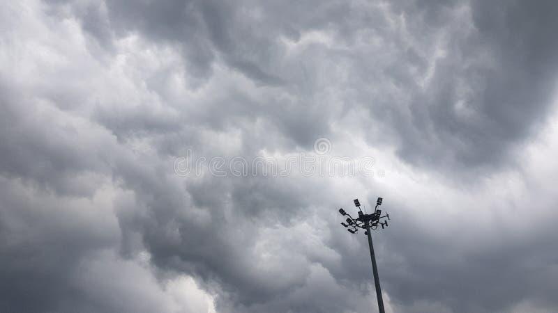 A tempestade está vindo imagem de stock royalty free
