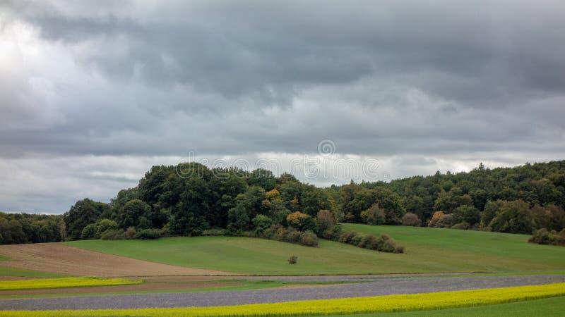 A tempestade Fabienne está vindo fotos de stock