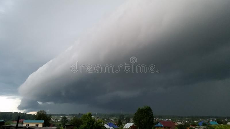 Tempestade iminente imagem de stock royalty free