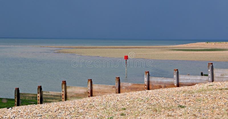Tempestade para fora ao mar foto de stock