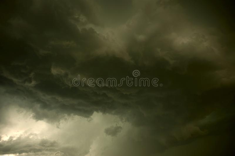 Tempestade pesada imagem de stock
