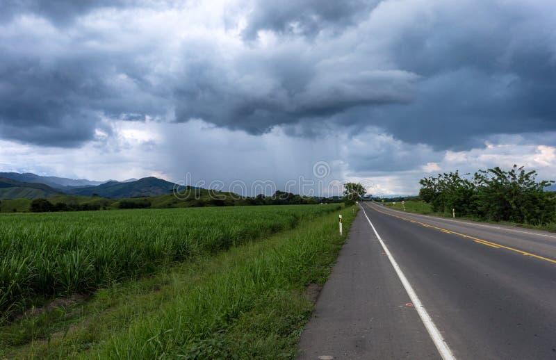 Tempestade próximo fotografia de stock