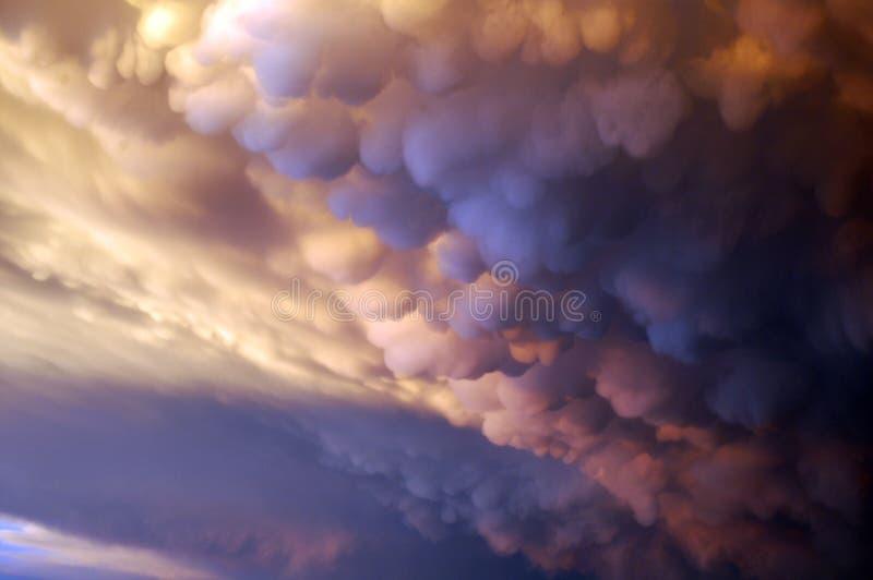 Tempestade que entra fotografia de stock royalty free