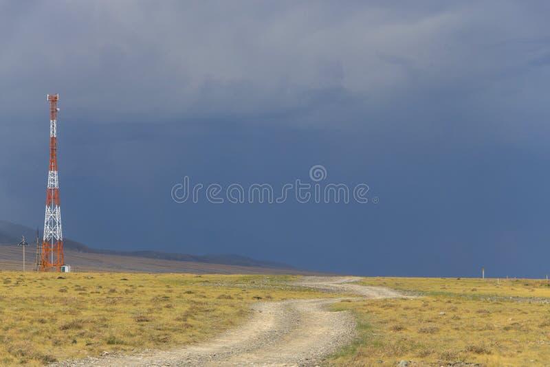 A tempestade vem mais próximo fotos de stock