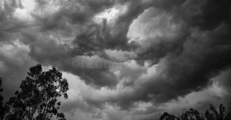 Tempestades do verão fotos de stock