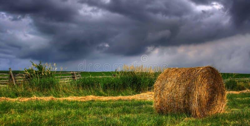 Tempestades no campo foto de stock royalty free