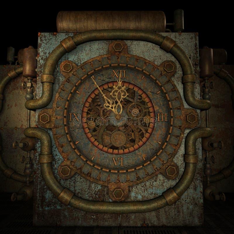 Tempi cinque - dodici illustrazione vettoriale