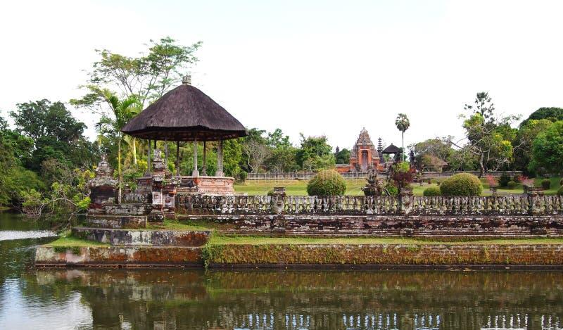 Tempiale antico del palazzo di Taman Ayun, Bali immagini stock