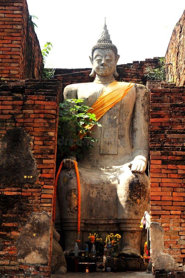 Tempiale antico Tailandia fotografie stock