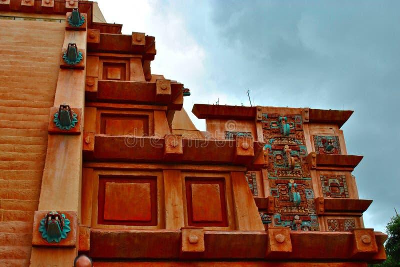 Tempiale azteco immagini stock libere da diritti