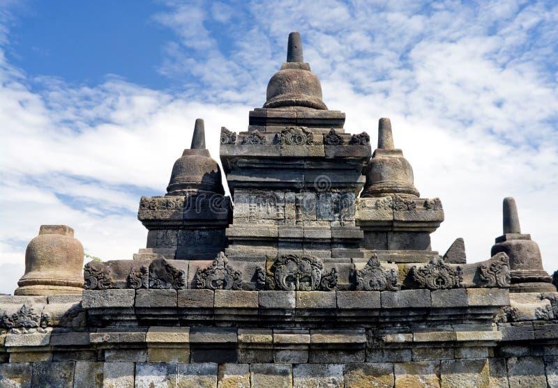 Tempiale buddista Borobudur. Yogyakarta. Java fotografia stock