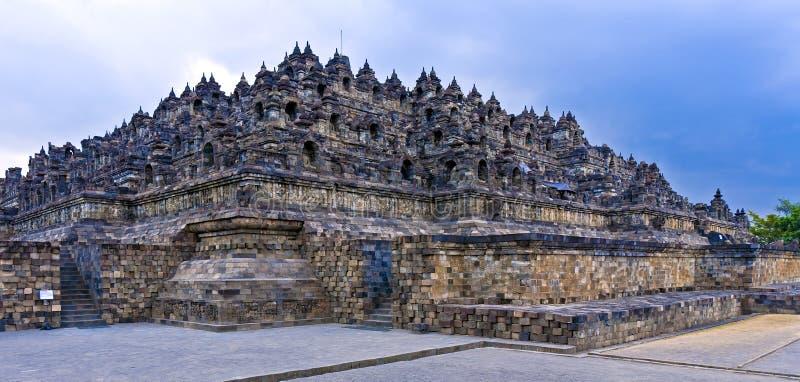 Tempiale buddista di Borobudur, Java, Indonesia fotografie stock