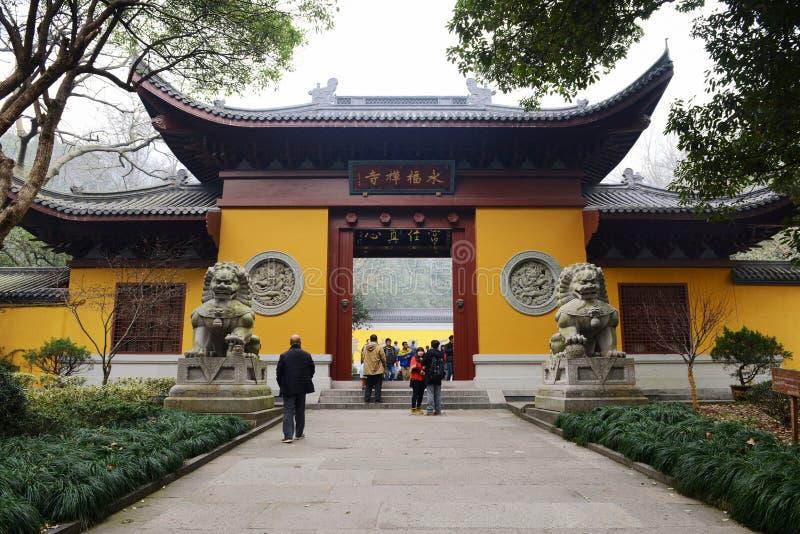 Tempiale cinese antico immagini stock libere da diritti