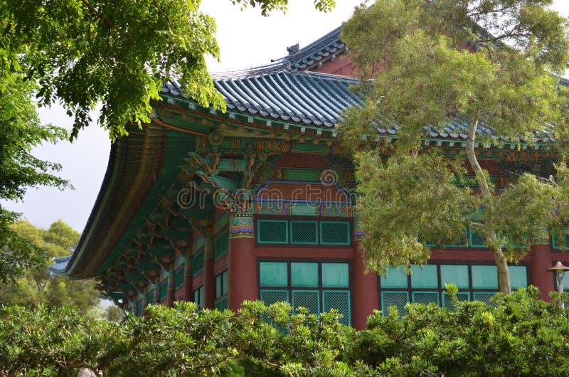 Tempiale coreano fotografia stock
