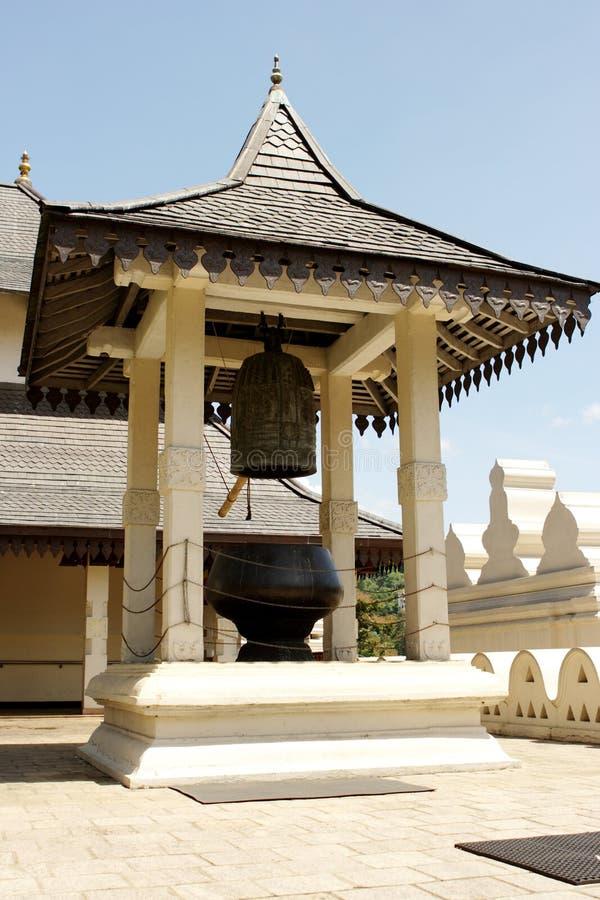 Tempiale del dente della caramella Sri Lanka di Budda fotografie stock libere da diritti