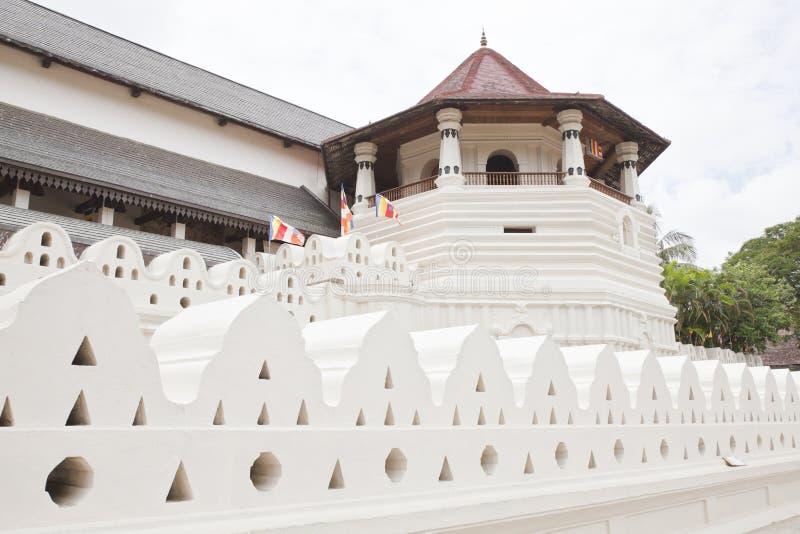 Tempiale del dente di buddha, caramella, Sri Lanka immagini stock libere da diritti
