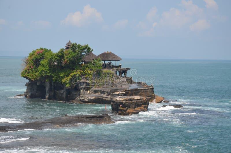 Tempiale del lotto di Tanah in Bali fotografie stock