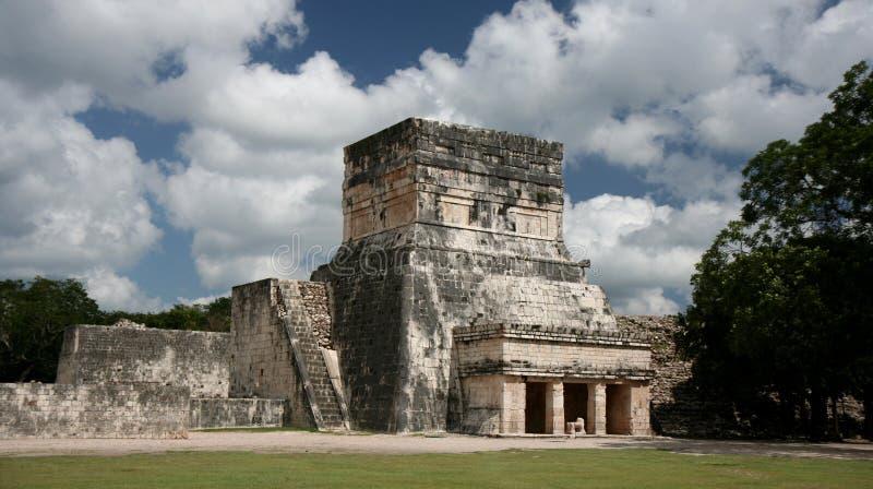 Tempiale del Maya immagini stock libere da diritti