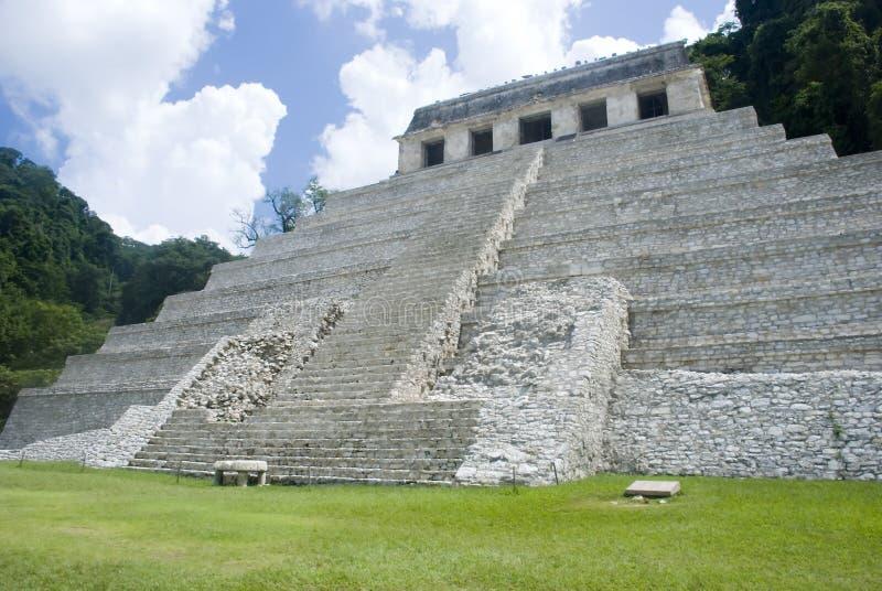 Tempiale del Maya immagine stock