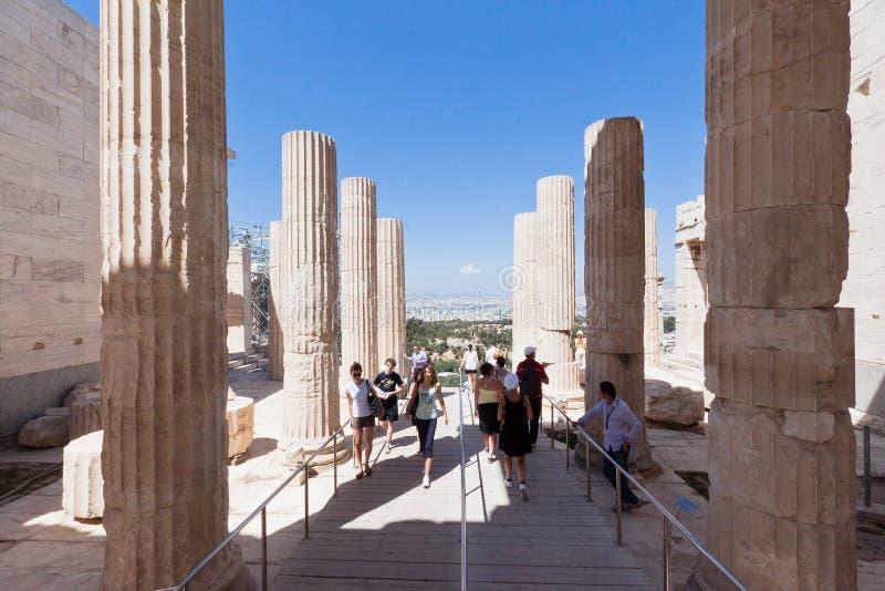 Tempiale del Nike Atene Grecia del Athena fotografie stock libere da diritti