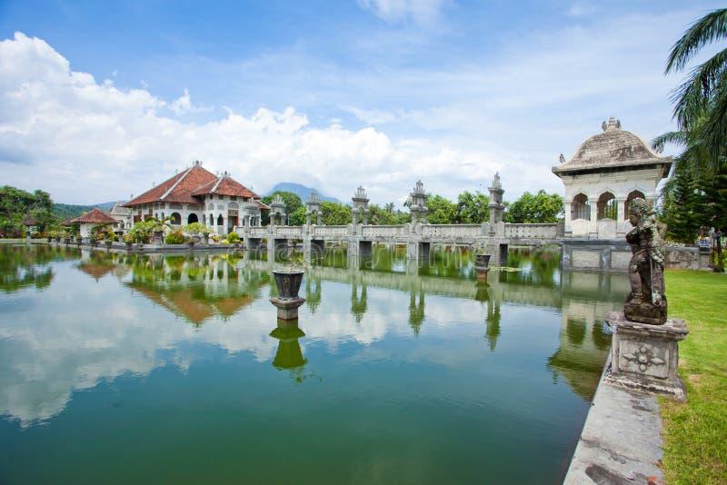 Tempiale dell'acqua in Bali immagini stock libere da diritti