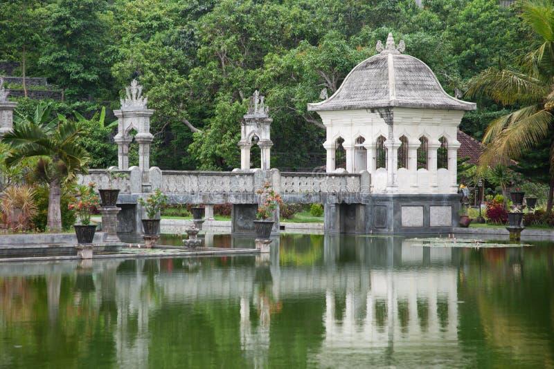 Tempiale dell'acqua in Bali fotografia stock libera da diritti