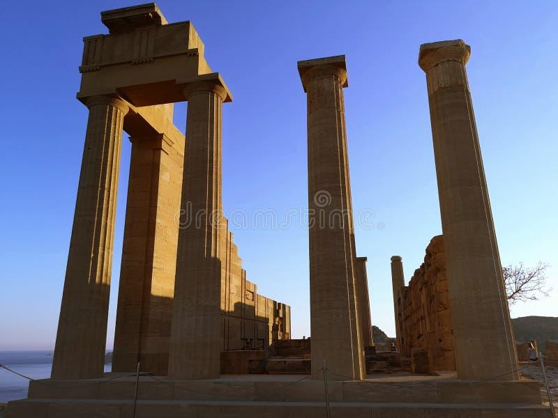 Tempiale 2 dell'Apollo immagine stock libera da diritti