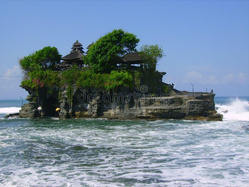 Tempiale dell'isola del Bali fotografia stock