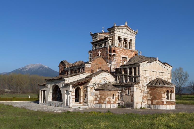 Tempiale di Agia Foteini alla Grecia immagine stock libera da diritti