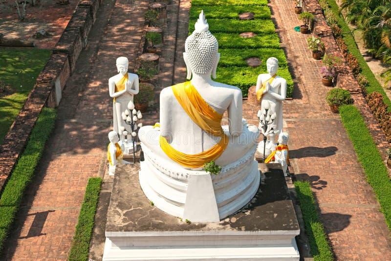 Tempiale di Ayuthaya, Tailandia, fotografie stock
