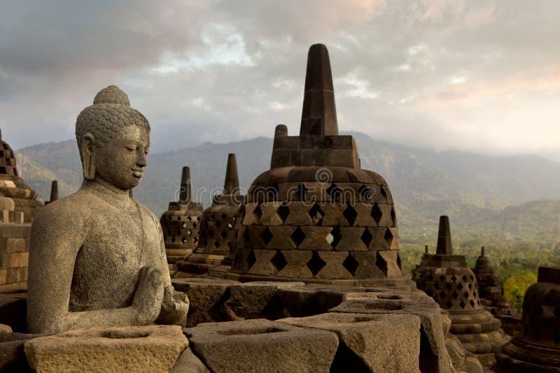 Tempiale di Borobudur immagini stock