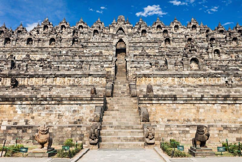 Tempiale di Borobudur fotografie stock