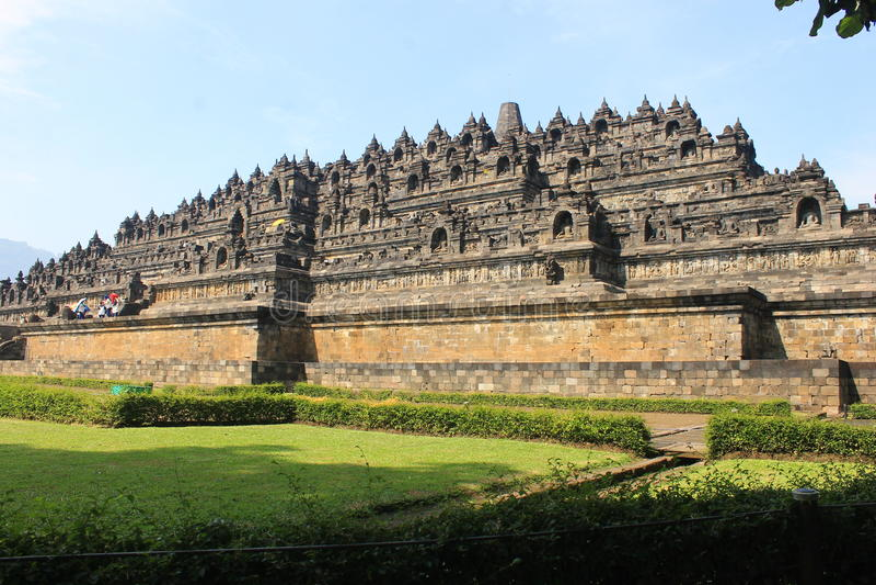 Tempiale di Borobudur immagini stock libere da diritti