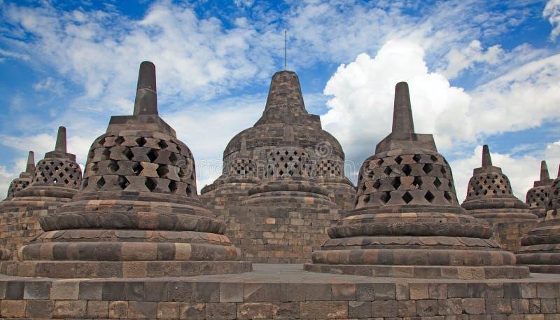 Tempiale di Borobudur in Indonesia fotografie stock