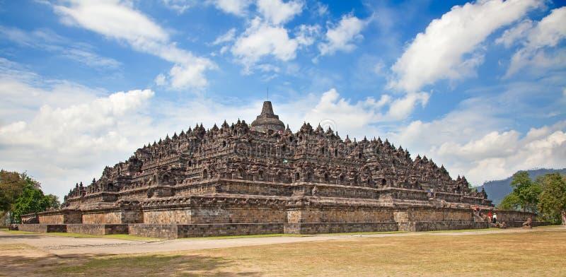 Tempiale di Borobudur in Indonesia fotografia stock