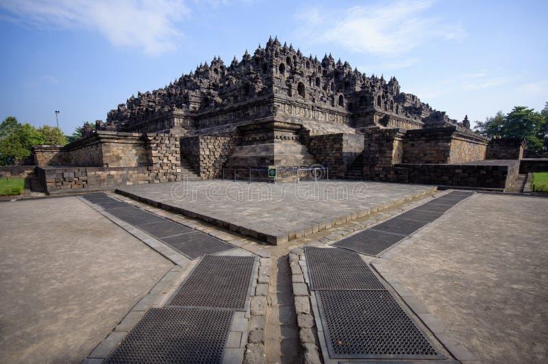 Tempiale di Borobudur, Java, Indonesia immagine stock libera da diritti
