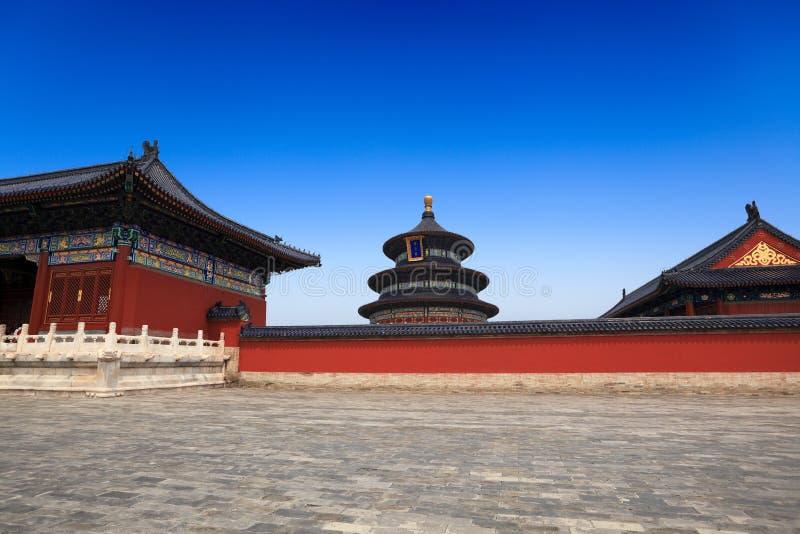Tempiale di cielo a Pechino fotografie stock