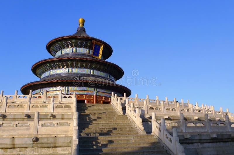 Tempiale di cielo a Pechino Cina immagini stock libere da diritti