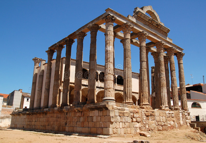 Tempiale di Diana   immagine stock