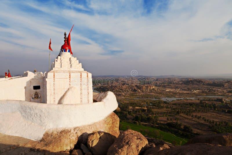 Tempiale di Hanuman, Hampi fotografia stock libera da diritti