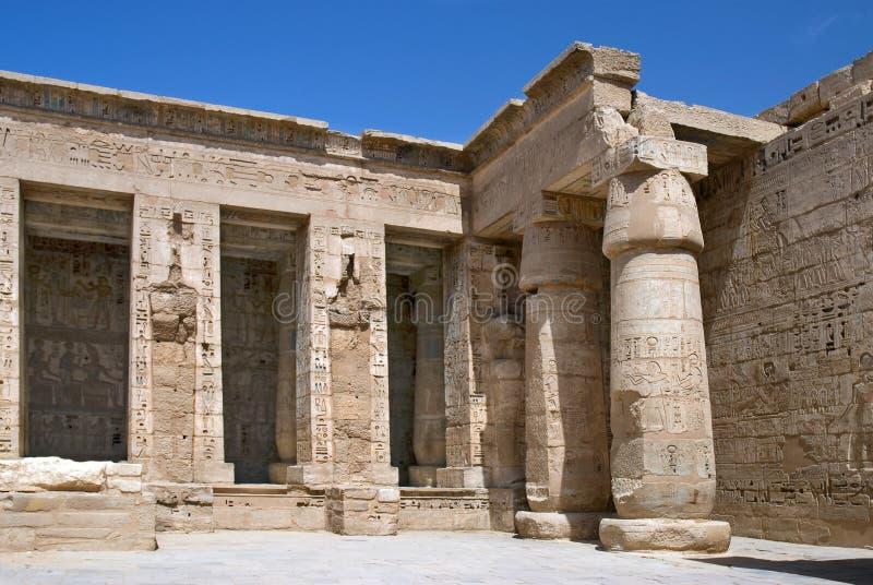 Tempiale di Hatshepsut, Egitto immagini stock libere da diritti