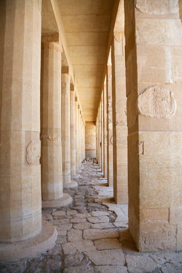 Tempiale di Hatshepsut, Egitto immagine stock libera da diritti