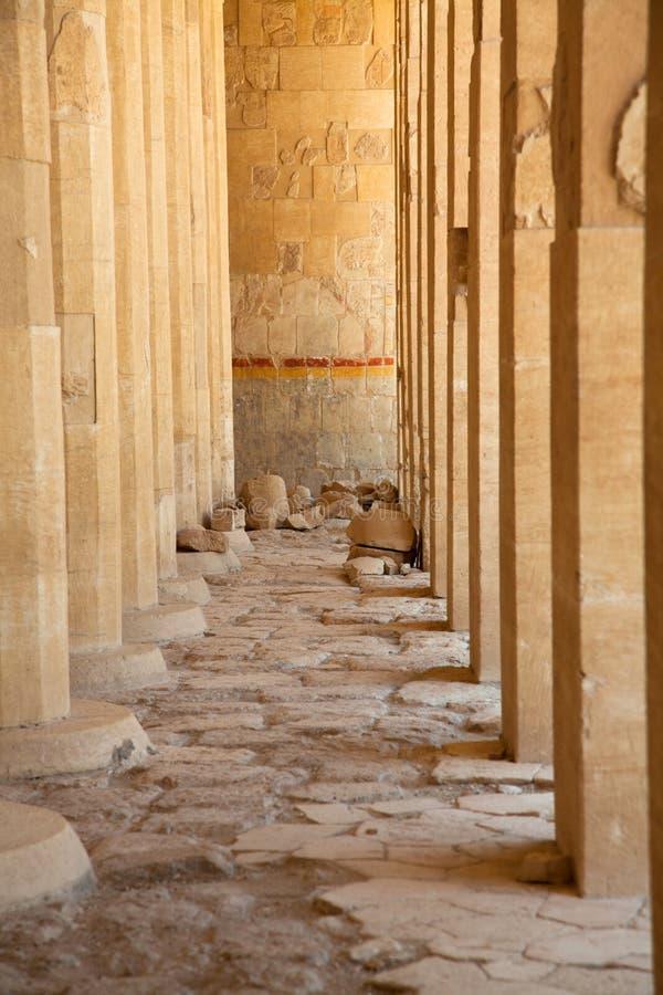 Tempiale di Hatshepsut, Egitto fotografia stock